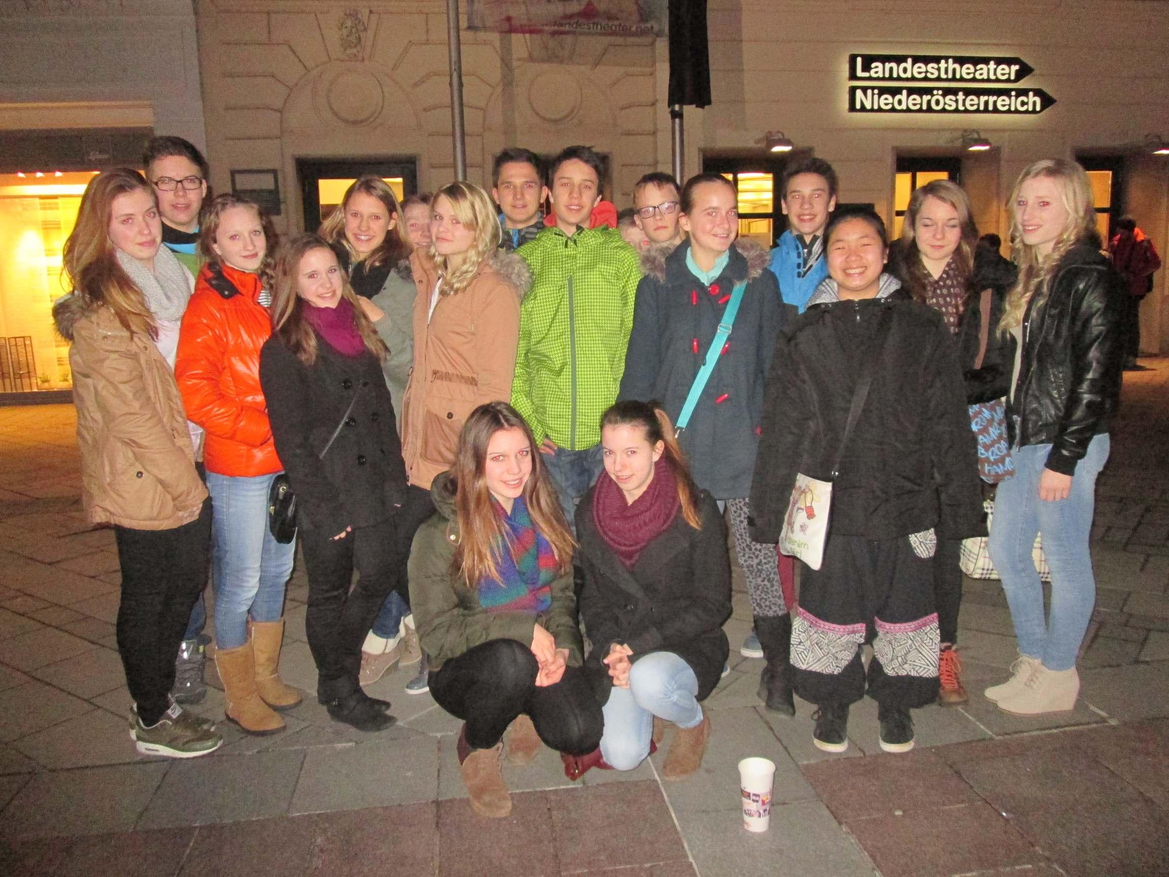 Theaterfahrt nach St. Pölten