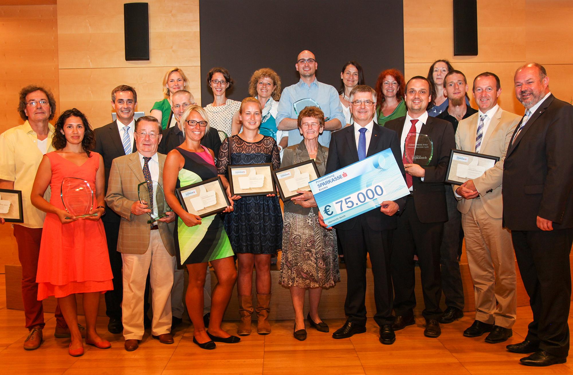 Förderpreis 2013 der Kremser Bank