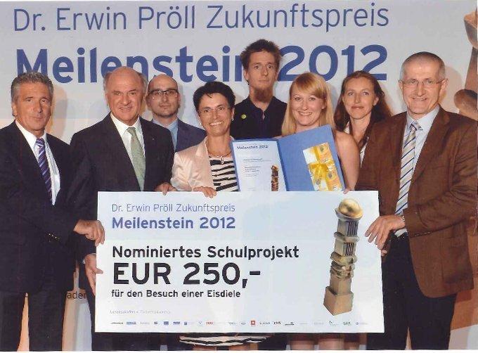 Meilenstein 2012 – Dr. Erwin-Pröll-Zukunftspreis