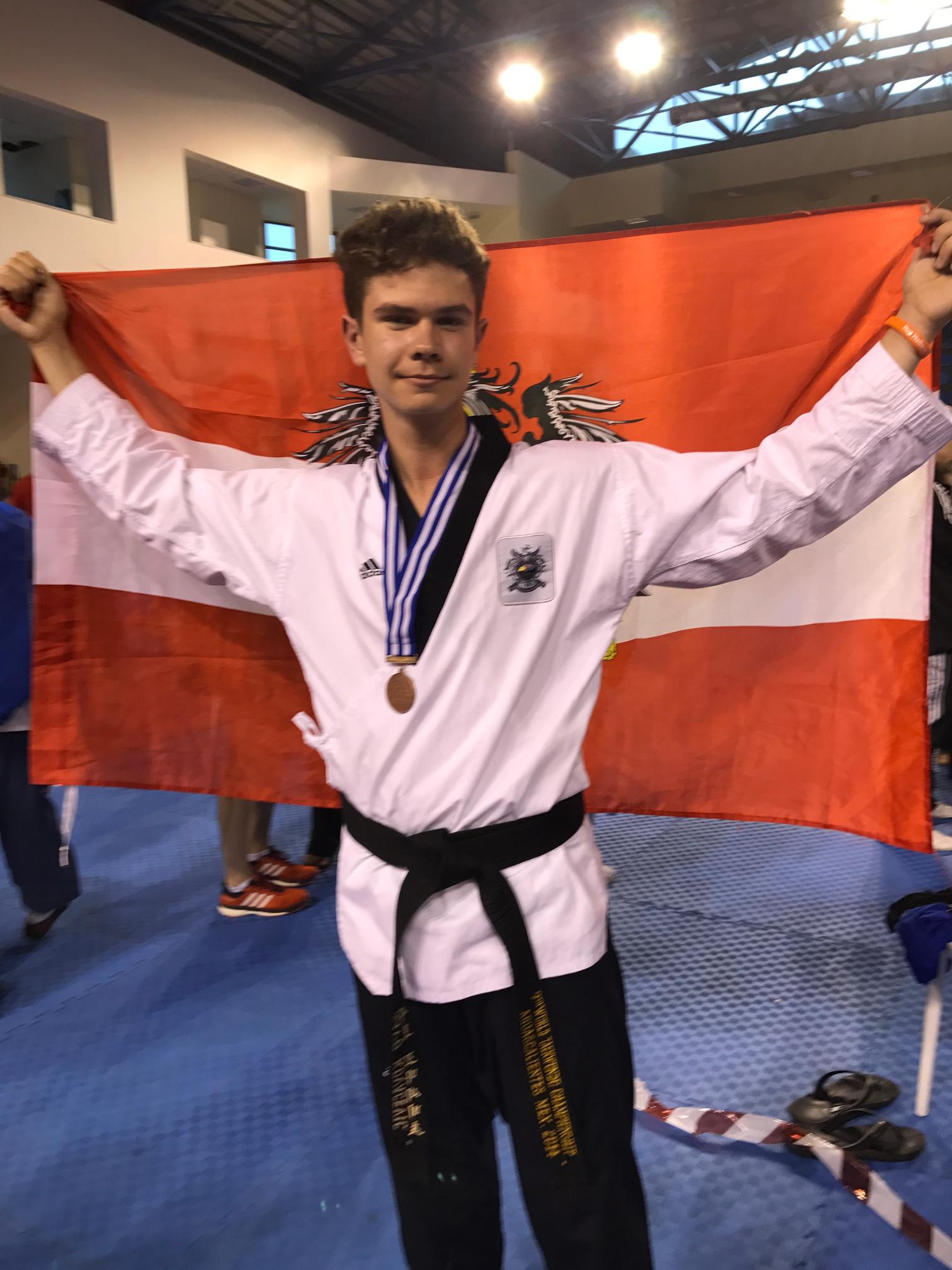 Europameisterschaften Bronzemedaille für Savo Kovacevic 7C